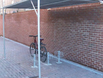 AX1 Cycle Shelter product image