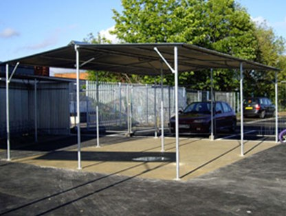 AX4 Cycle Shelter product image