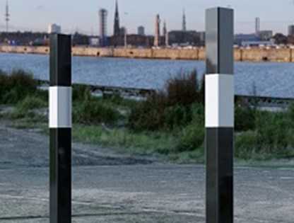 Black and White Bollards cover image