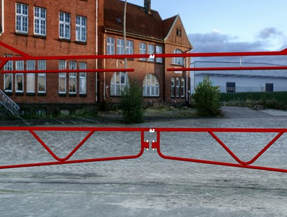 Double Swing Height Restrictor with Swing Gate product image