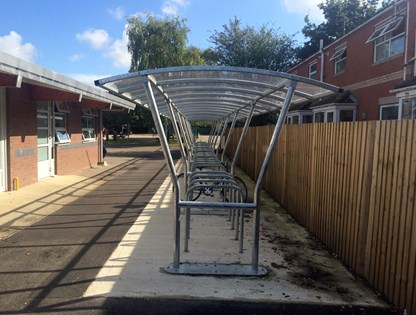 Harbledown Cycle Shelter product image