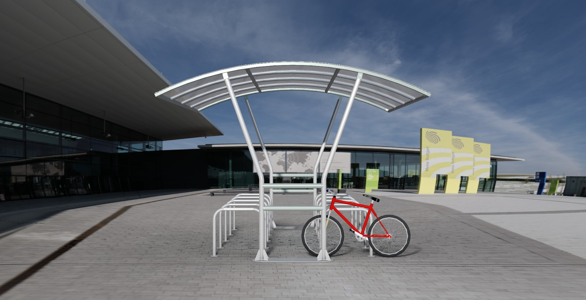 Ashton Cycle Shelter product image