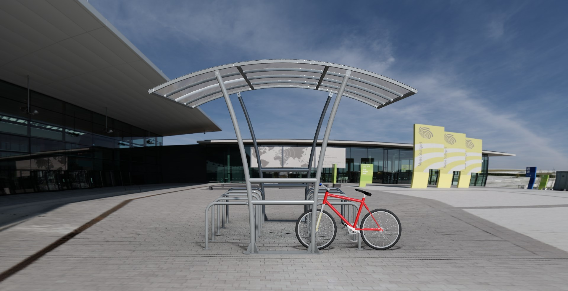 Bowerham Cycle Shelter product image