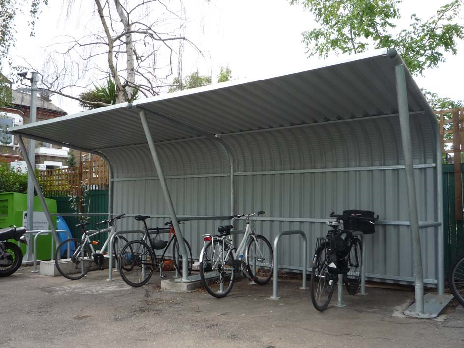 Cantilever Cycle Shelter product image