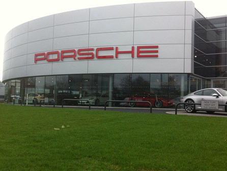 Porsche, Solihull is now secure thanks to AUTOPA article image