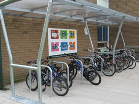 Bilton Junior School gets pupils cycling to school article image